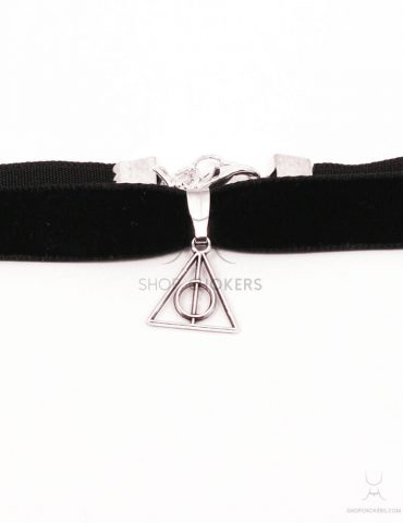 harrypotter triangle choker Triangle choker harrypotter 1 370x480