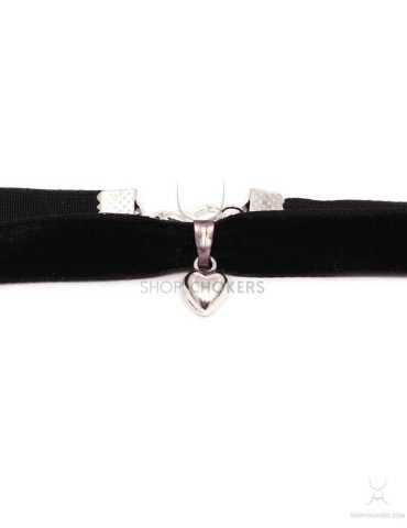 heartsilver small heart choker Small heart choker heartsilver 1 370x480
