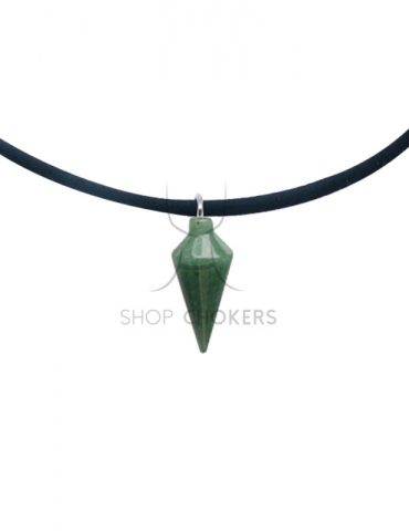 Green-adventurine Green adventurine stone thin choker Green adventurine 370x480