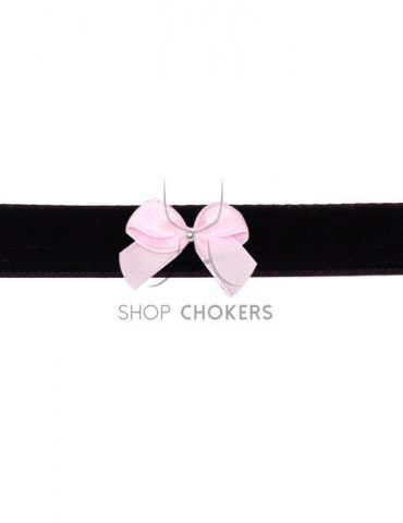 blackpinkbow Black bow choker blackpinkbow 2 370x480