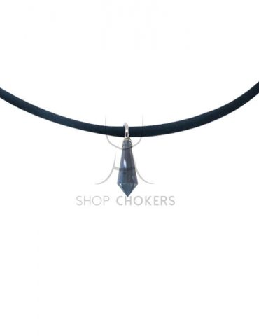 bluediamond1 Blue diamond stone thin choker bluediamond1 1 370x480