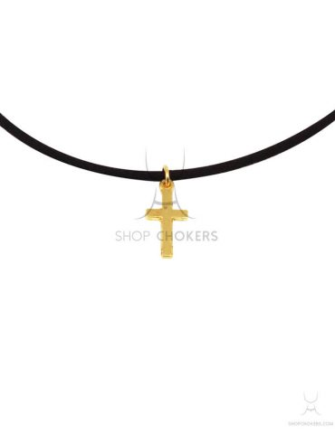 goldcross1 cross thin choker Cross thin choker goldcross1 1 370x480