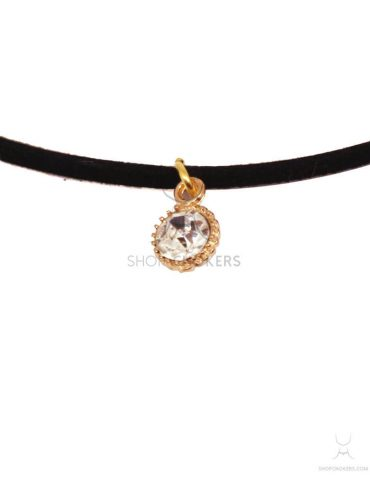 goldsmalldiamond1 Small diamond choker goldsmalldiamond1 370x480