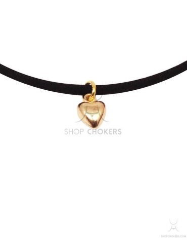 goldthinheart1 (1) small heart thin choker Small heart thin choker goldthinheart1 1 370x480