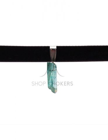 greencrystalchoker1 Green crystal stone thick choker greencrystalchoker1 1 370x480