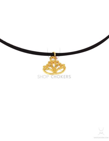 lotusthin lotus thin choker Lotus thin choker lotusthin 1 370x480