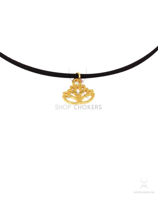 lotus thin choker Lotus thin choker lotusthin 1 550x688