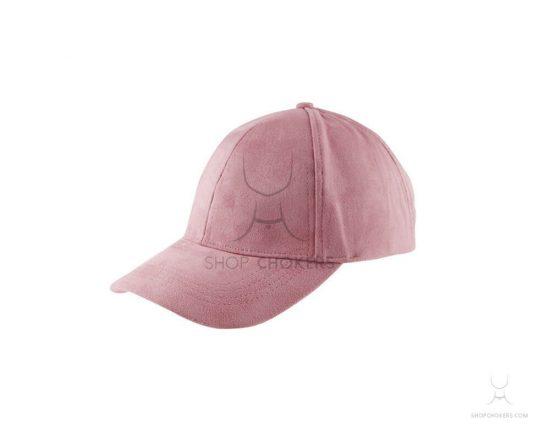 Pink velvet cap pinkcap 1 550x440
