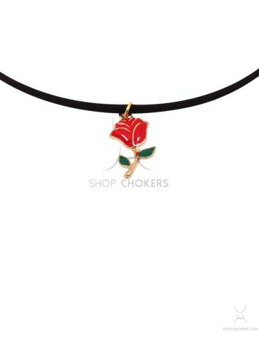 redrosethin red rose thin choker Red rose thin choker redrosethin 1 370x480