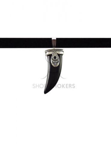 hornblackchoker Black horn choker hornblackchoker 370x480