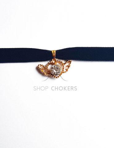 sailormoonwhitethick Sailor Moon silver heart thick choker sailormoonwhitethick 370x480