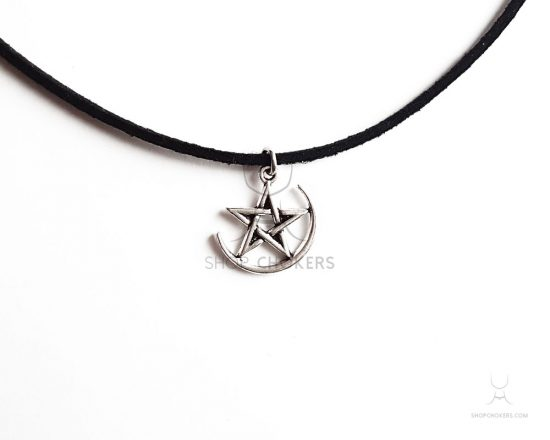 moon star thin choker Moon star thin choker witchthin2 550x440