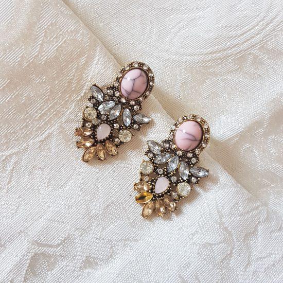 pink-diamond-gold-statement-earrings