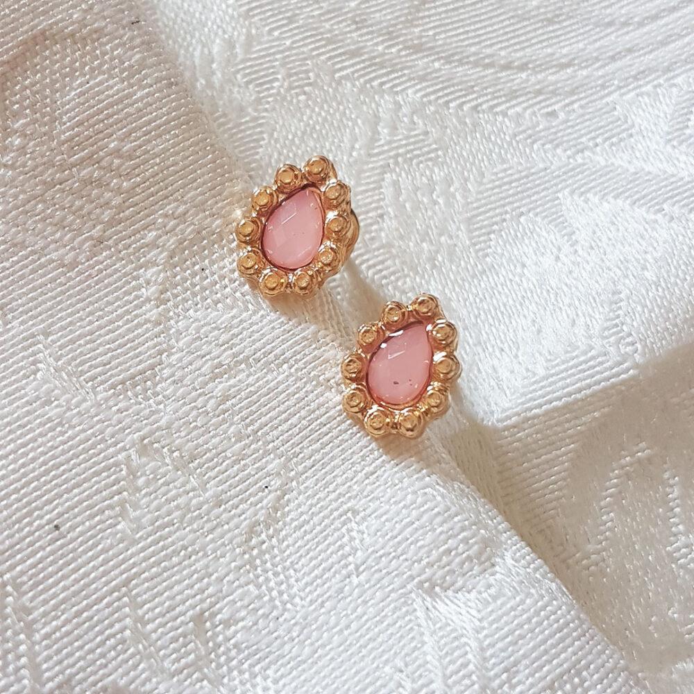 pink-gold-diamond-teardrop-earrings