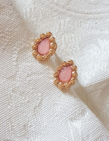 pink-gold-diamond-teardrop-earrings