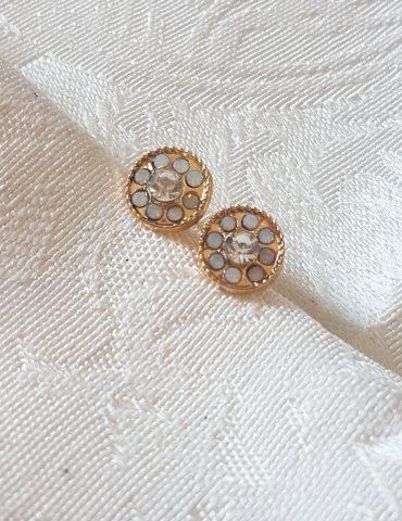 Silver small diamond earrings Small diamond earrings Silver 370x480