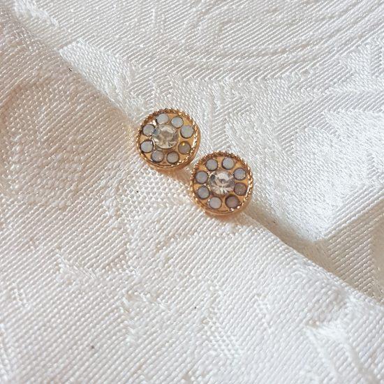 small diamond earrings Small diamond earrings Silver 550x550