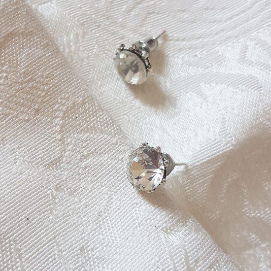 silver-earring diamond earrings Diamond earrings SilverEarring2 550x550
